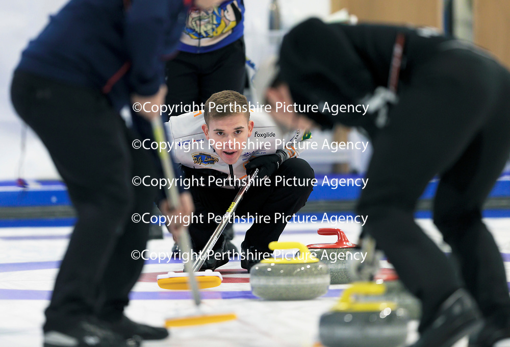 Euro Super Series Curling Finals....<br />Ross Whyte<br />Picture by Graeme Hart.<br />Copyright Perthshire Picture Agency<br />Tel: 01738 623350  Mobile: 07990 594431