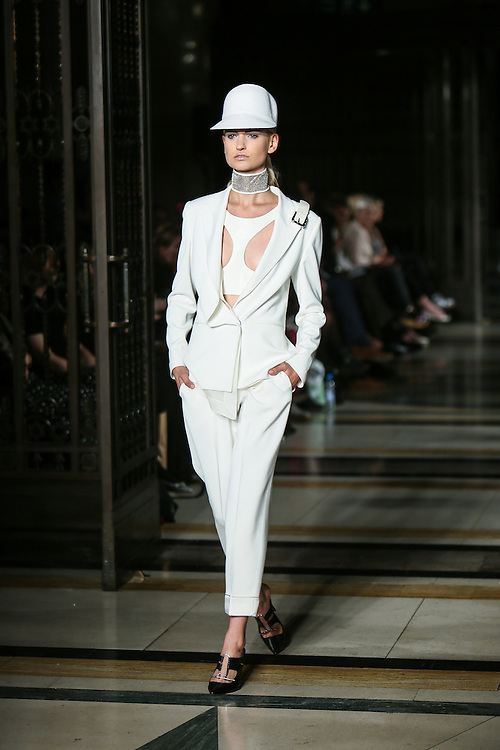 Zeynep Tosun show during London Fashion Week, Spring/Summer 2013
