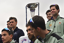 March 24, 2018 - London, United Kingdom - Cambridge were victorious in both The Cancer Research UK Women's Boat Race 2018 and The Cancer Research UK Men's Boat Race 2018. (Credit Image: © Alberto Pezzali/NurPhoto via ZUMA Press)