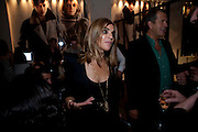 CARINE ROITFELD; MARIO TESTINO, Afterparty for Burberry  Spring/Summer 2010 Show. Horseferry House. Horseferry Rd. London sW1.  London Fashion Week.  22 September 2009.