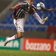 Carlinhos, Fluminense, in action during the  Fluminense VAtlético MG, Futebol Brasileirao  League match at Estadio Olímpico Joao Havelange, Rio de Janeiro, Fluminense won the match 5-1. Rio de Janeiro,  Brazil. 23rd September 2010. Photo Tim Clayton.
