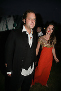 Lars von Bennigsen and Alice Temperley , QUINTESSENTIALLY AND ELEPHANT FAMILY TRUNK SHOW PARTY. SERPENTINE PAVILION, HYDE PARK. 16 SEPTEMBER 2007. -DO NOT ARCHIVE-© Copyright Photograph by Dafydd Jones. 248 Clapham Rd. London SW9 0PZ. Tel 0207 820 0771. www.dafjones.com.