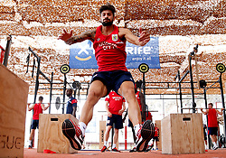Eros Pisano of Bristol City works out in the gym - Mandatory by-line: Matt McNulty/JMP - 20/07/2017 - FOOTBALL - Tenerife Top Training Centre - Costa Adeje, Tenerife - Pre-Season Training