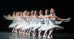 La Bayadere <br /> A ballet in three acts <br /> Choreography by Natalia Makarova <br /> After Marius Petipa <br /> The Royal Ballet <br /> At The Royal Opera House, Covent Garden, London, Great Britain <br /> General Rehearsal <br /> 30th October 2018 <br /> <br /> STRICT EMBARGO ON PICTURES UNTIL 2230HRS ON THURSDAY 1ST NOVEMBER 2018 <br /> <br /> <br /> <br /> <br /> Yuhui Choe, Yasmine Naghdi, Akane Takada - the Shades <br /> <br /> <br /> Photograph by Elliott Franks Royal Ballet's Live Cinema Season - La Bayadere is being screened in cinemas around the world on Tuesday 13th November 2018 <br /> --------------------------------------------------------------------