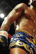 El luchador de Muay Thai / Primer campeonato mundial de Muay Thai y Artes Marciales Mixtas en Panamá, 2010 / Ciudad de Panamá.<br /> <br /> Edición de 10 - Fine Art