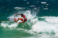 Joel Parkinson, Pro surfer competing in the Australian Open of Surfing, Manly Beach, Sydney, New South Wales, Australia