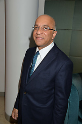 LORD VERJEE at the Fortune Forum Club dinner in the presence of HSH Prince Albert II of Monaco held at The Dorchester, Park Lane, London on 15th January 2014.