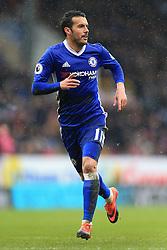 12th February 2017 - Premier League - Burnley v Chelsea - Pedro of Chelsea - Photo: Simon Stacpoole / Offside.