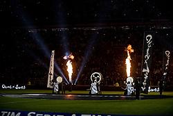 December 23, 2017 - Turin, Piemonte/Torino, Italy - Cygames show before the football match Serie A: Juventus FC vs AS Roma. Juventus won 1-0 at Allianz Stadium in Turin, Italy 23th december 2017. (Credit Image: © Alberto Gandolfo/Pacific Press via ZUMA Wire)
