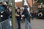 Zijne Hoogheid Prins Floris van Oranje Nassau, van Vollenhoven en mevrouw mr. A.L.A.M. Söhngen zijn zaterdag 22 oktober in de kerk van Naarden in het  huwelijk getreden. De prins is de jongste zoon van Prinses Magriet en Pieter van Vollenhoven.<br /> <br /> Church Wedding Prince Floris and Aimée Söhngen. <br /> <br /> Church Wedding Prince Floris and Aimée Söhngen in Naarden. The Prince is the youngest son of Princess Margriet, Queen Beatrix's sister, and Pieter van Vollenhoven. <br /> <br /> Op de foto / On the photo;<br /> <br /> <br /> <br /> Zijne Hoogheid Prins Floris Frederik Martijn van Oranje-Nassau, Van Vollenhoven <br /> <br /> His highness prince Floris Frederik Martijn van Oranje-Nassau, Van Vollenhoven