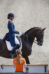 Gevers Katja, (NED), Thriller<br /> Kingsley Donadeo Grand Prix<br /> Dutch Championship Dressage - Ermelo 2015<br /> © Hippo Foto - Dirk Caremans<br /> 17/07/15