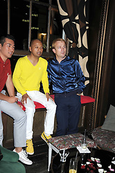 Left to right, HASSAN ABDULLAH and MICHEL LASSERRE at Maria Castani's birthday party held at Sketch, 9 Conduit St, London on 14th July 2008.<br /> <br /> NON EXCLUSIVE - WORLD RIGHTS