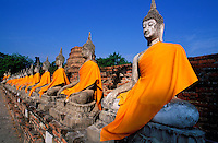 Thailande - <br /> Phra Nakhon Si Ayutthaya Province - Ayutthaya <br /> Wat Yai Chai Mongkon