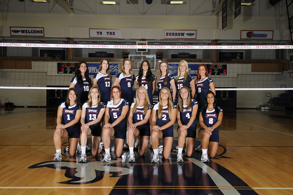 2011 FAU Volleyball Photo Day