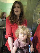CAT PHILLIPS; ROBIN BUUS-PHILLIPS, Opening of Rude Britannia. Tate Britain. Millbank. London. 7 June 2010. -DO NOT ARCHIVE-© Copyright Photograph by Dafydd Jones. 248 Clapham Rd. London SW9 0PZ. Tel 0207 820 0771. www.dafjones.com.
