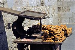 Selling Bread At Jafa Gate