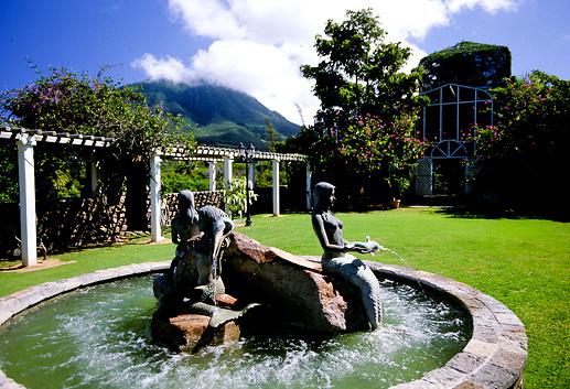 Nevis, Batanical Gardens