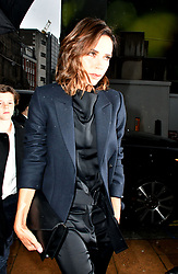 June 27, 2017 - London, London, United Kingdom - Image ©Licensed to i-Images Picture Agency. 27/06/2017. London, United Kingdom. Victoria Beckham attends Brooklyn Beckham private view & book launch. Brooklyn Beckham, who's shot a campaign for Burberry, marks launch of his first photography book, What I See, as well as new exhibition featuring his personal photographs drawn from the book, at Christie's Mayfair, London. Picture by Nils Jorgensen / i-Images (Credit Image: © Nils Jorgensen/i-Images via ZUMA Press)