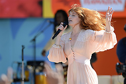 June 29, 2018 - New York, NY, USA - June 29, 2018 New York City..Florence + The Machine performing on the Good Morning America Concert Series in Central Park in New York City on June 29, 2018. (Credit Image: © Kristin Callahan/Ace Pictures via ZUMA Press)
