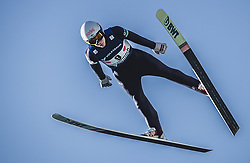 30.09.2018, Energie AG Skisprung Arena, Hinzenbach, AUT, FIS Ski Sprung, Sommer Grand Prix, Hinzenbach, im Bild Antti Aalto (FIN) // Antti Aalto of Finland during FIS Ski Jumping Summer Grand Prix at the Energie AG Skisprung Arena, Hinzenbach, Austria on 2018/09/30. EXPA Pictures © 2018, PhotoCredit: EXPA/ JFK