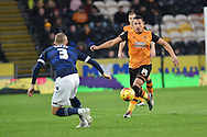 Jake Livermore of Hull City during the Sky Bet Championship match between Hull City and Bolton Wanderers at the KC Stadium, Kingston upon Hull, England on 12 December 2015. Photo by Ian Lyall.
