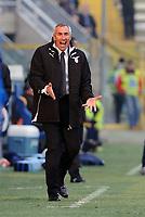 """Edy Reja, nuovo allenatore Lazio.<br /> Parma, 14/02/2010 Stadio """"Tardini""""<br /> Parma-Lazio.<br /> Campionato Italiano Serie A 2009/2010<br /> Foto Nicolò Zangirolami Insidefoto"""