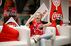 June 13, 2018 - Moscou, Rússia - MOSCOU, MO - 13.06.2018: GENERAL PICTURES MOSCOW 2018 - Angelina Makarova (11) Olympic medalist with special needs during the official sponsor event before the opening game of the 2018 FIFA World Cup between Russia and Saudi Arabia held at the Lujniki Stadium in Moscow, Russia. (Credit Image: © Marcelo Machado De Melo/Fotoarena via ZUMA Press)