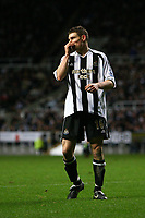 Photo: Andrew Unwin.<br />Newcastle United v Watford. The Barclays Premiership. 16/12/2006.<br />Newcastle's James Milner.