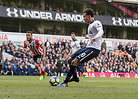 Football - 2016 / 2017 Premier League - Tottenham Hotspur vs. Southampton<br /> <br /> Dele Alli of Tottenham strikes hoime from the penalty spot at White Hart Lane.<br /> <br /> COLORSPORT/DANIEL BEARHAM