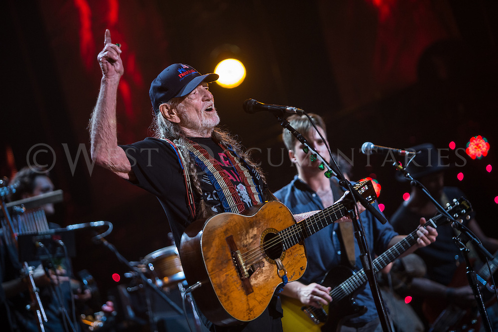 Willie Nelson and friends.