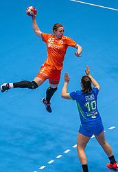 Harma van Kreij of Netherlands in action during the Women's friendly match between Netherlands and Slovenia at De Maaspoort on march 19, 2021 in Den Bosch, Netherlands (Photo by RHF Agency/Ronald Hoogendoorn)