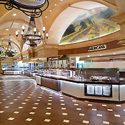 Interior Photos of Thunder Valley Buffet Resort and Casino Retail Infrastructure- Architectural Photography Example of Chip Allen's work.
