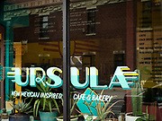 Brooklyn, NY - September 28, 2020: Opening photos of Ursula, a new cafe in Crown Heights serving New Mexican fare.<br /> <br /> Photos by Clay Williams for Eater.<br /> <br /> © Clay Williams / claywilliamsphoto.com
