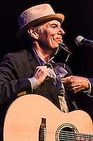 John Hiatt performing at Sopac in South Orange, NJ.