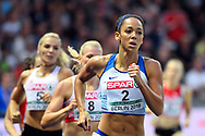 Katarina Johnson-Thompson (GBR) win the Silver Medal in Heptathlon during the European Championships 2018, at Olympic Stadium in Berlin, Germany, Day 4, on August 10, 2018 - Photo Photo Julien Crosnier / KMSP / ProSportsImages / DPPI