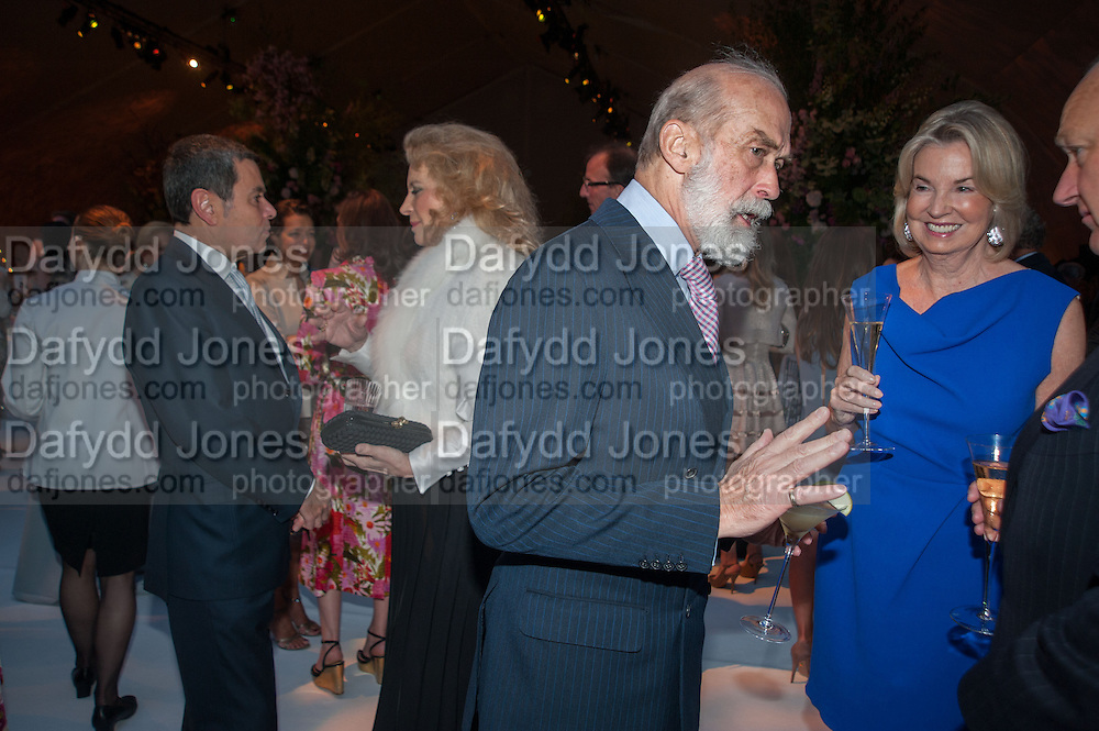 PRINCESS MICHAEL OF KENT; PRINCE MICHAEL OF KENT; HILARY WESTON; CARTIER CHELSEA FLOWER SHOW DINNER Dinner hosted by Cartier in celebration of the Chelsea Flower Show was held at Battersea Power Station. 22 May 2012