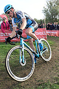 Belgium, November 1 2017:  Kevin Pauwels (Marlux - Napoleon Games Cycling Team) during the 2017 edition of the Koppenbergcross elite men's race. Pauwels finished in 5th place. Copyright 2017 Peter Horrell.