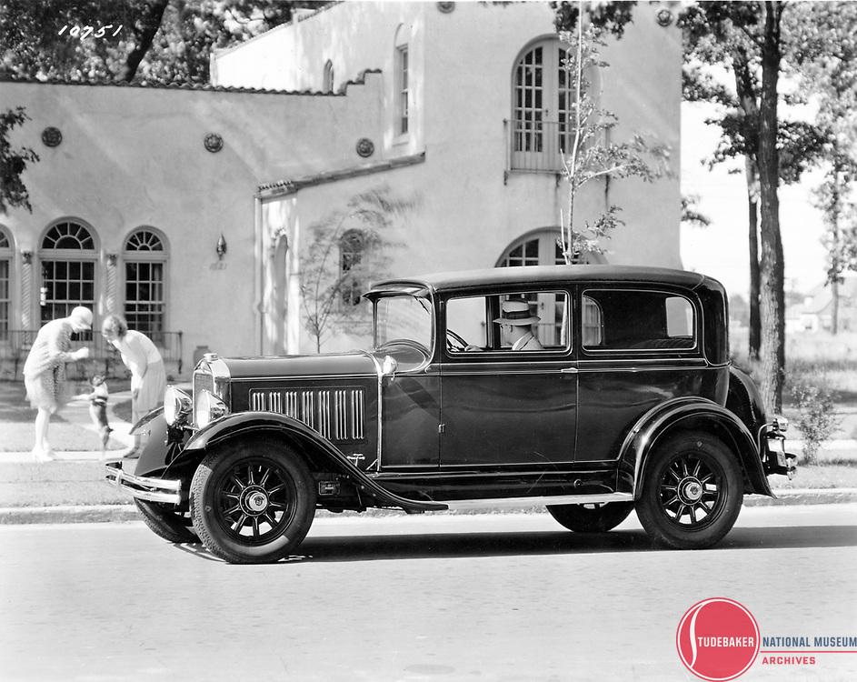 1929-30 Dictator GL Club Sedan