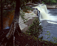 Porcupine Mountains Wilderness State Park, Michigan, May, 1988.