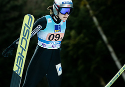 Anna Odine Stroem of Norway competes during Team Competition at Day 2 of World Cup Ski Jumping Ladies Ljubno 2019, on February 9, 2019 in Ljubno ob Savinji, Slovenia. Photo by Matic Ritonja / Sportida