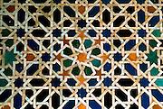 SPAIN, ANDALUSIA, GRANADA Alhambra; mosaic tiles, 'azulejos'