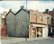 Old amateur photos of Dublin streets churches, cars, lanes, roads, shops schools, hospitals, Streetscape views are hard to come by while the quality is not always the best in this collection they do capture Dublin streets not often available and have seen a lot of change since photos were taken Alied Irish Bank Ansley Bridge Poplar Rd, Fairview North Srand, East Wall Rd Houses, Shiriff St Church Clouds Howth Cornmarket, St Brendans March 1987