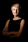 Karin Raguin in IMD business school, Lausanne, Switzerland, on September 23, 2011. Photo by Lucas Schifres/Pictobank