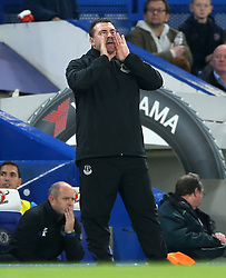 Everton's caretaker manager David Unsworth on the touchline during the Carabao Cup, Fourth Round match at Stamford Bridge, London.
