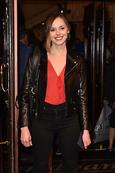 May 29, 2019 - London, United Kingdom - Hannah Tointon seen during The Starry Messenger' press night at Wyndham's Theatre in London. (Credit Image: © James Warren/SOPA Images via ZUMA Wire)