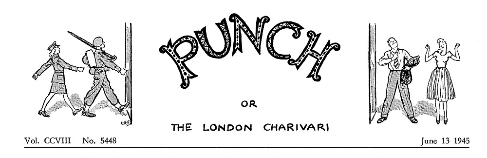 (Charivaria heading 13 June 1945)