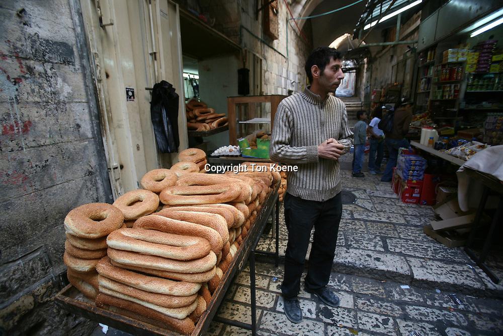 market in the old city of Jerusalem