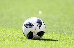June 23, 2018 - Moscou, Rússia - MOSCOU, MO - 23.06.2018: BÉLGICA Y TÚNEZ - Adidas Telstar ball during the match between Belgium and Tunisia valid for the 2018 World Cup held at the Otkrytie Arena (Spartak) in Moscow, Russia. (Credit Image: © Rodolfo Buhrer/Fotoarena via ZUMA Press)