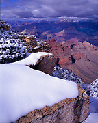 Morning after Storm, near Yaki Point Grand Canyon National Park, Arizona