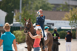 Minderhoud Hans Peter (NED) - Glock's Flirt<br /> Preis der Familie Tesch <br /> Lambertz Nations Cup<br /> Weltfest des Pferdesports CHIO Aachen 2014<br /> © Hippo Foto - Dirk Caremans
